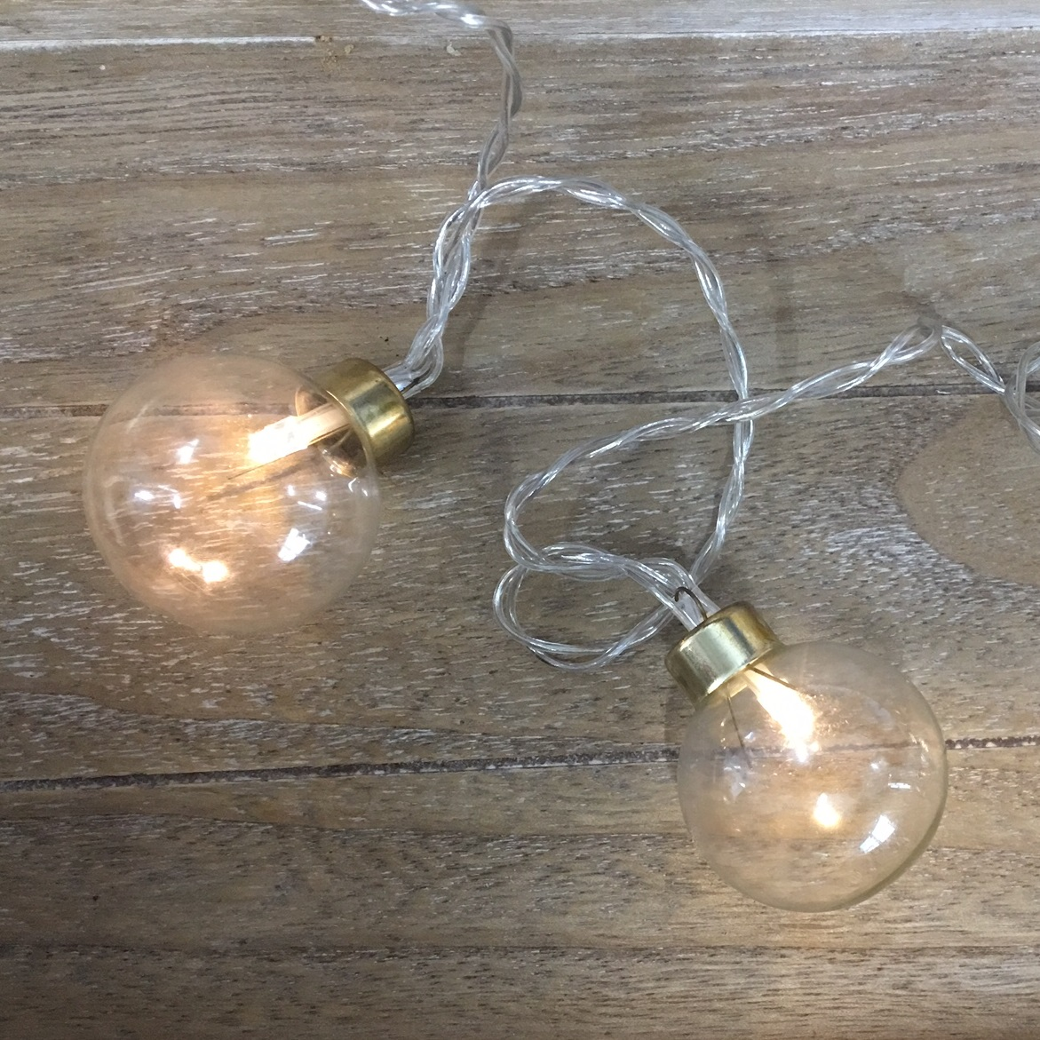 Clear Bulb 20 LED String Lights - Tutti Decor Ltd