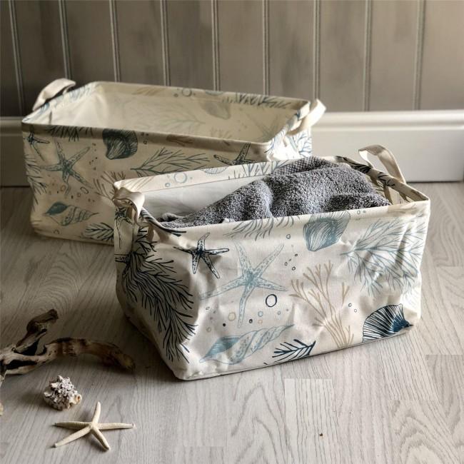 nautical-laundry-storage-basket-set