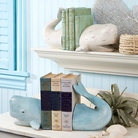 whale-bookends