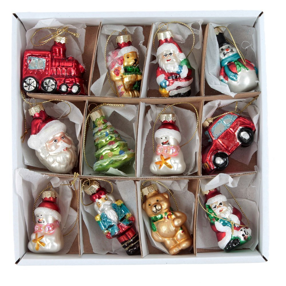 Vintage christmas decorations boxed set tutti decor limited