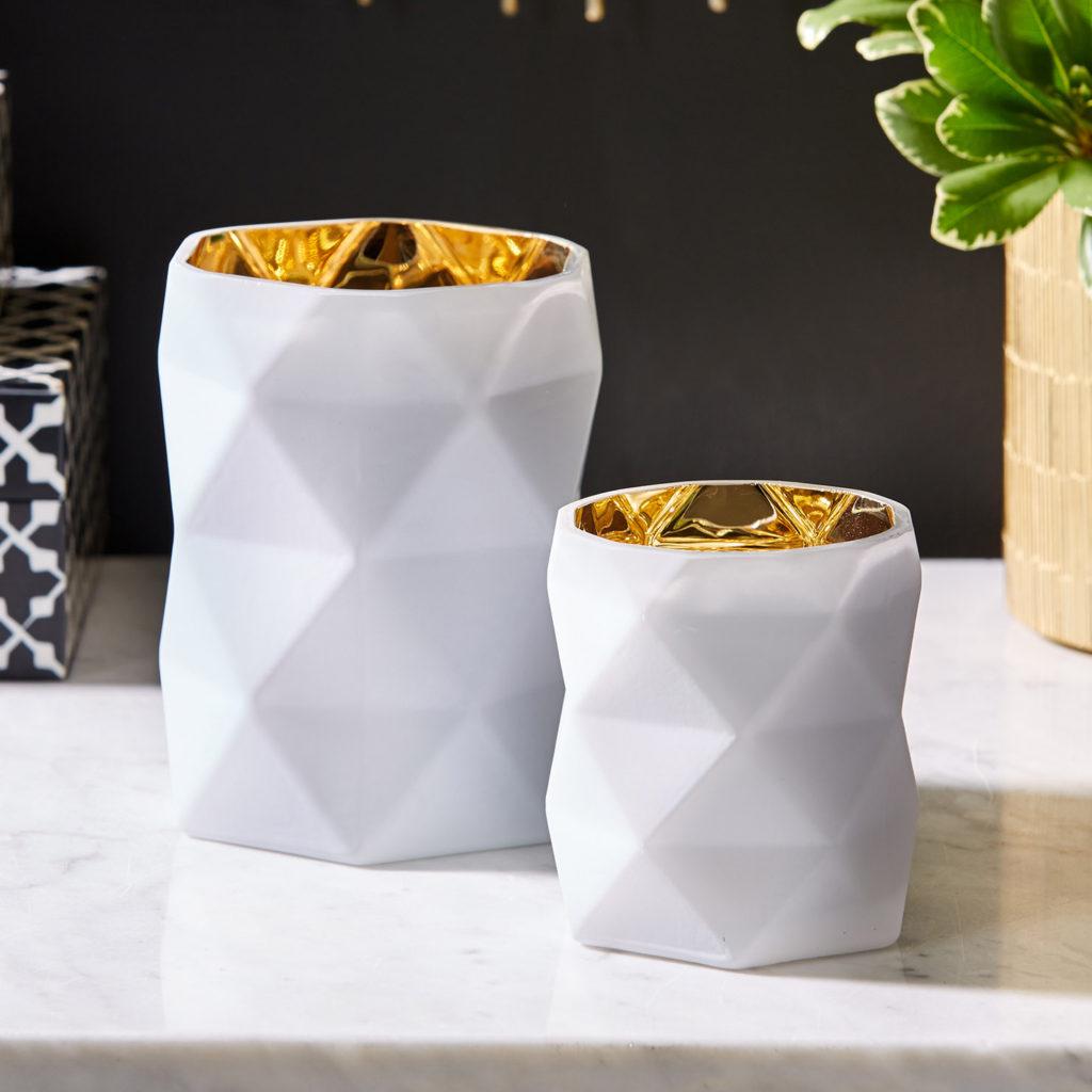 white-diamond-cut-candle-holders