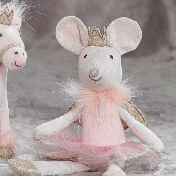 Sugar Plum Fairy Mouse Soft Toy Tutti Decor Ltd