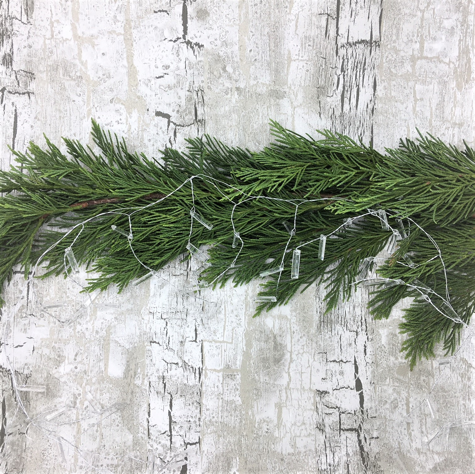 Clear Acrylic Icicle Garland Tutti Decor Ltd Bloomsberry
