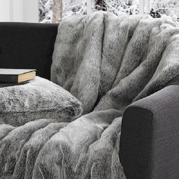 Koala-Faux-Fur-Throw-Cushion