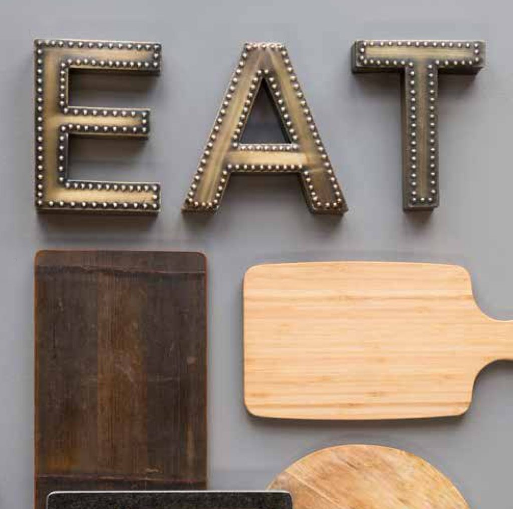 metallic-industrial-eat-letters