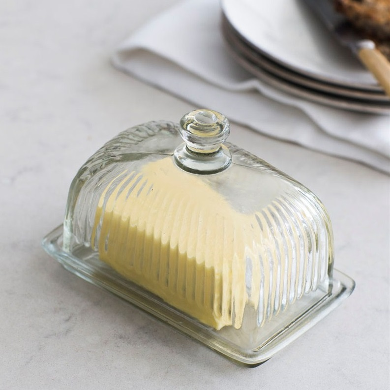 Cornbury-Pressed-Glass-Butter-Dish
