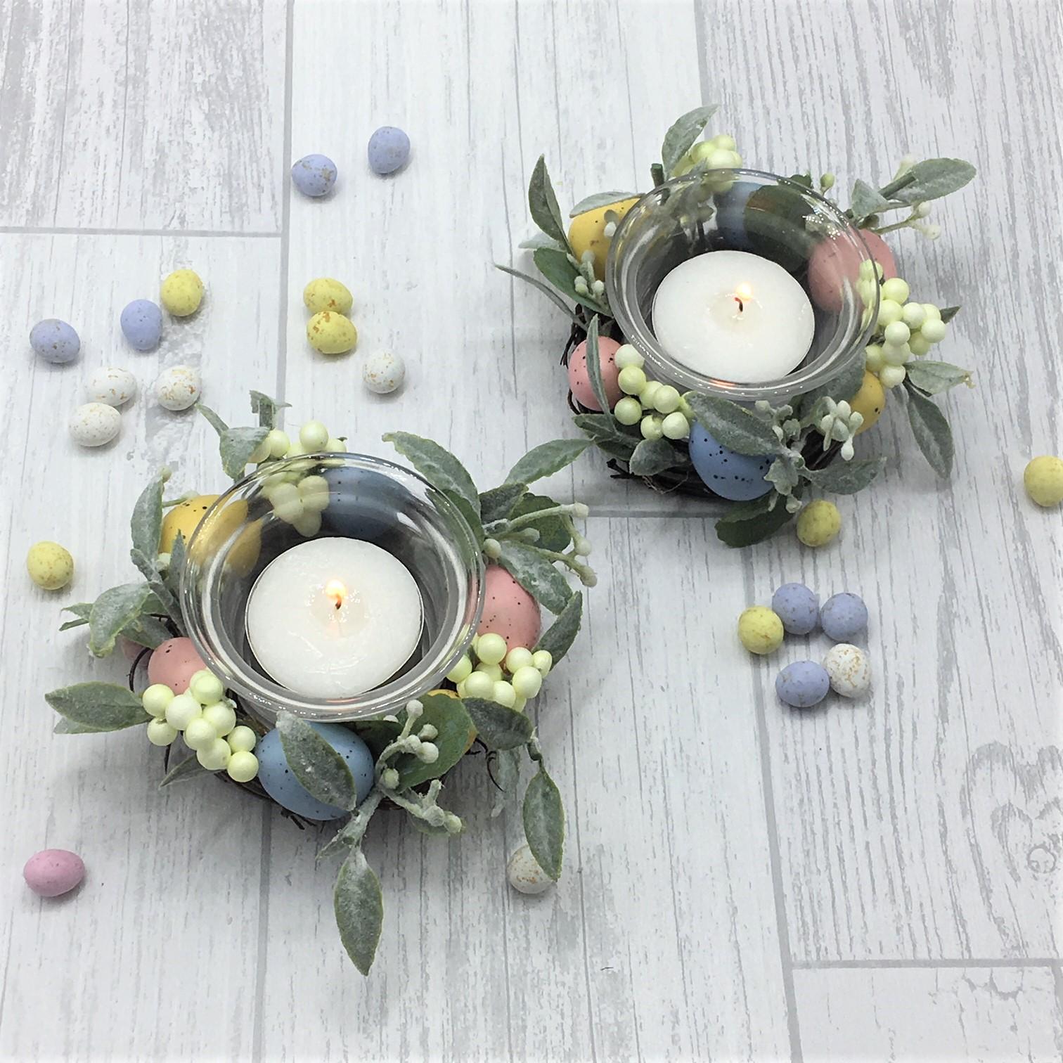 Easter Tea Light Holder Set Tutti Decor Ltd Gisela Graham
