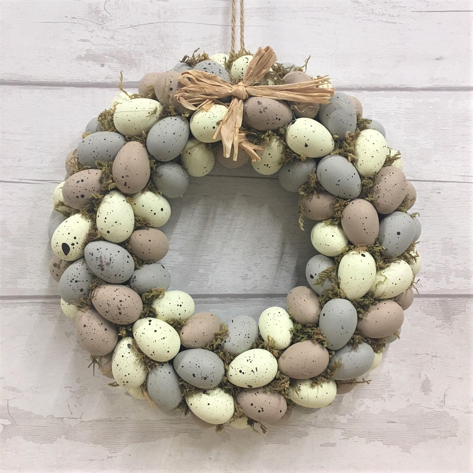 Gisela Graham Country Easter Egg Wreath Tutti Decor Ltd