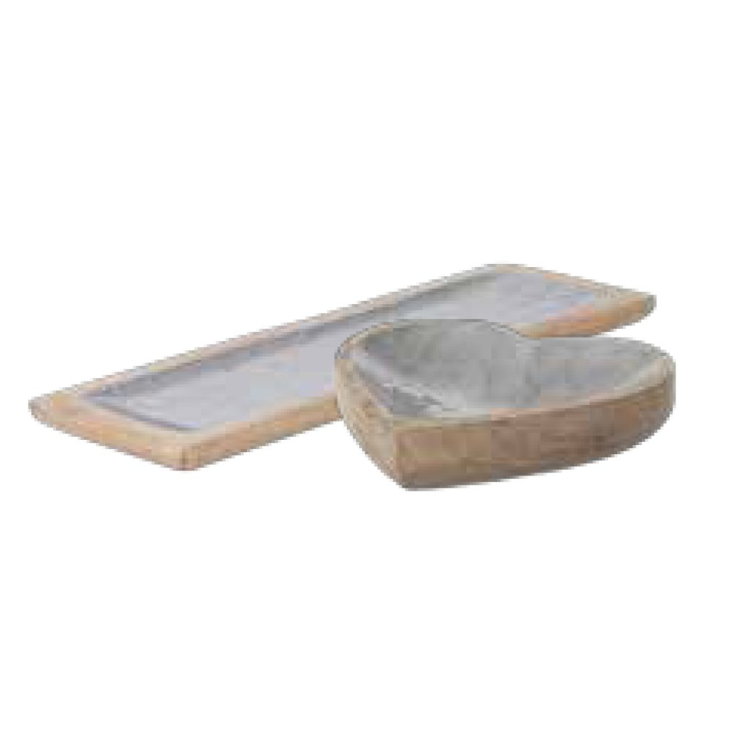 Pg 11 Silver Wood Trays