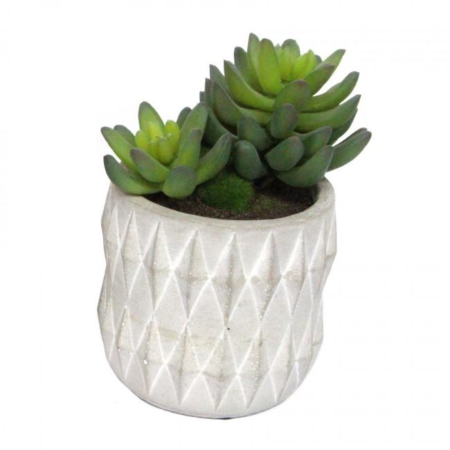 artificial-succulent-grey-cement-pot-high-1