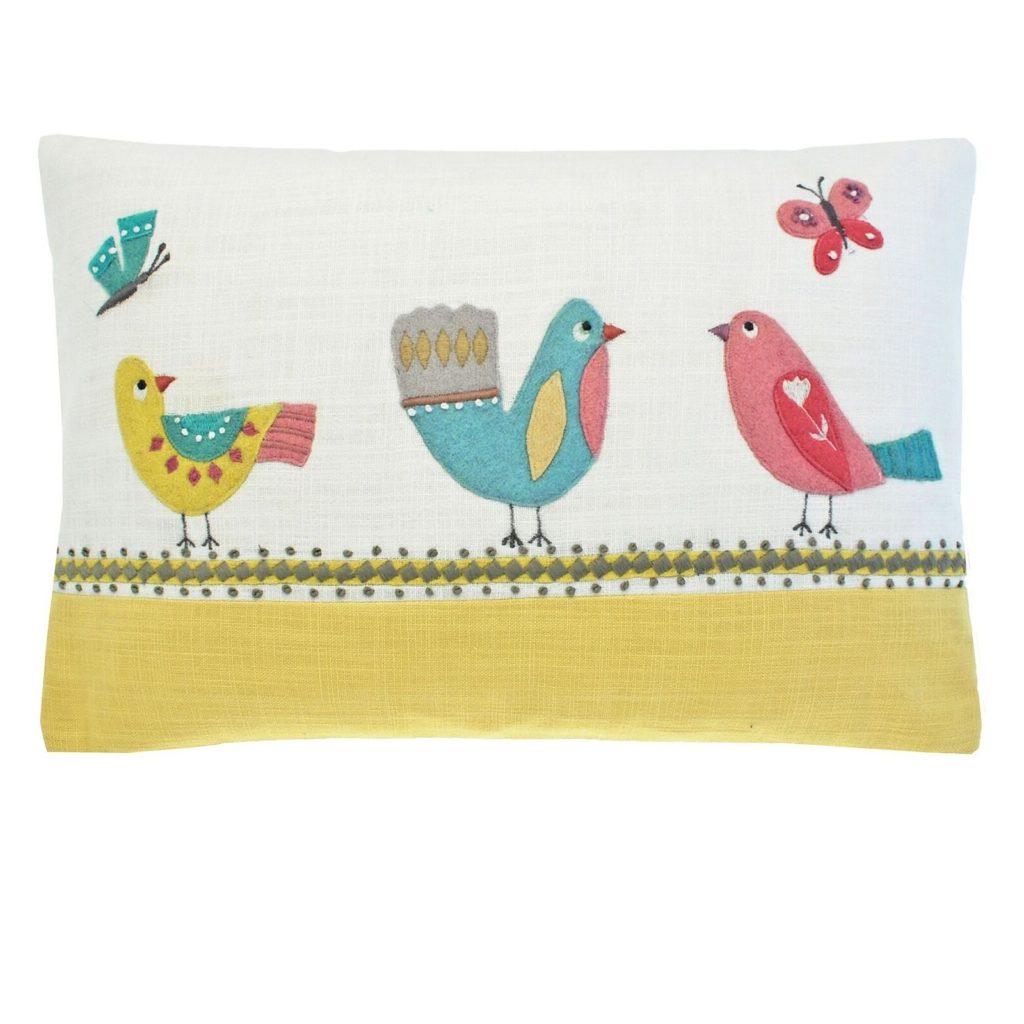 birdie-applique-linen-cushion