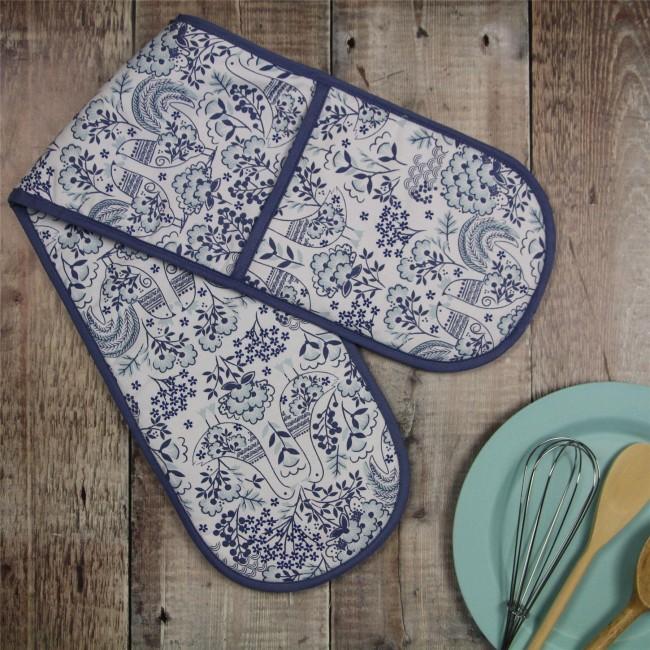 blue-scandi-folk-art-double-oven-glove