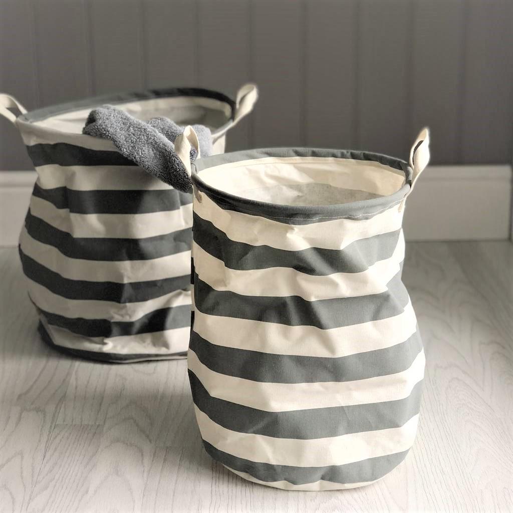 grey-striped-storage-baskets-round