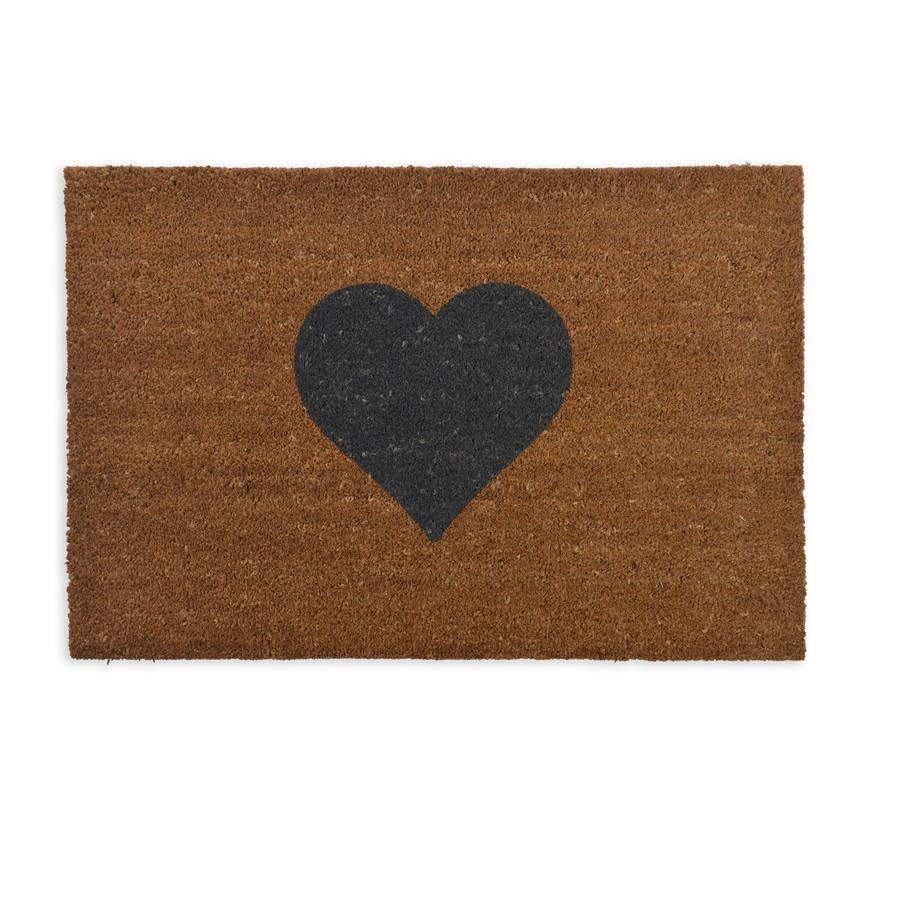 heart-doormat