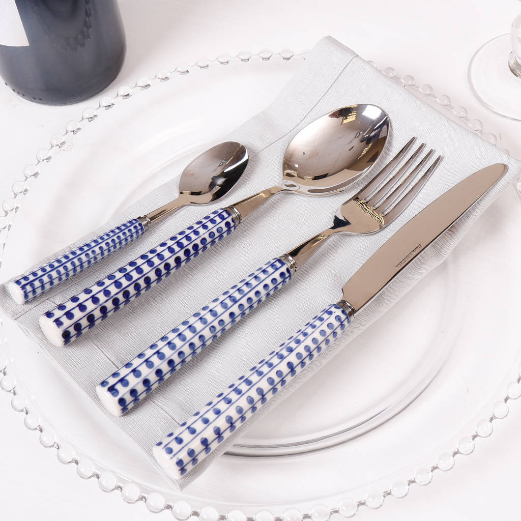16pc-contemporary-stripes-and-dots-cutlery-set