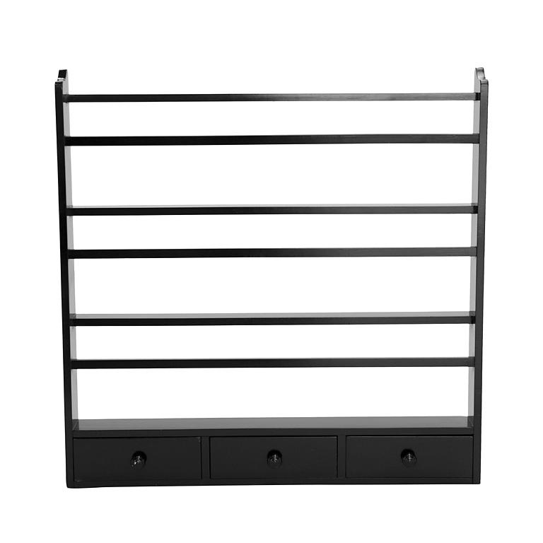 plate-rack-black