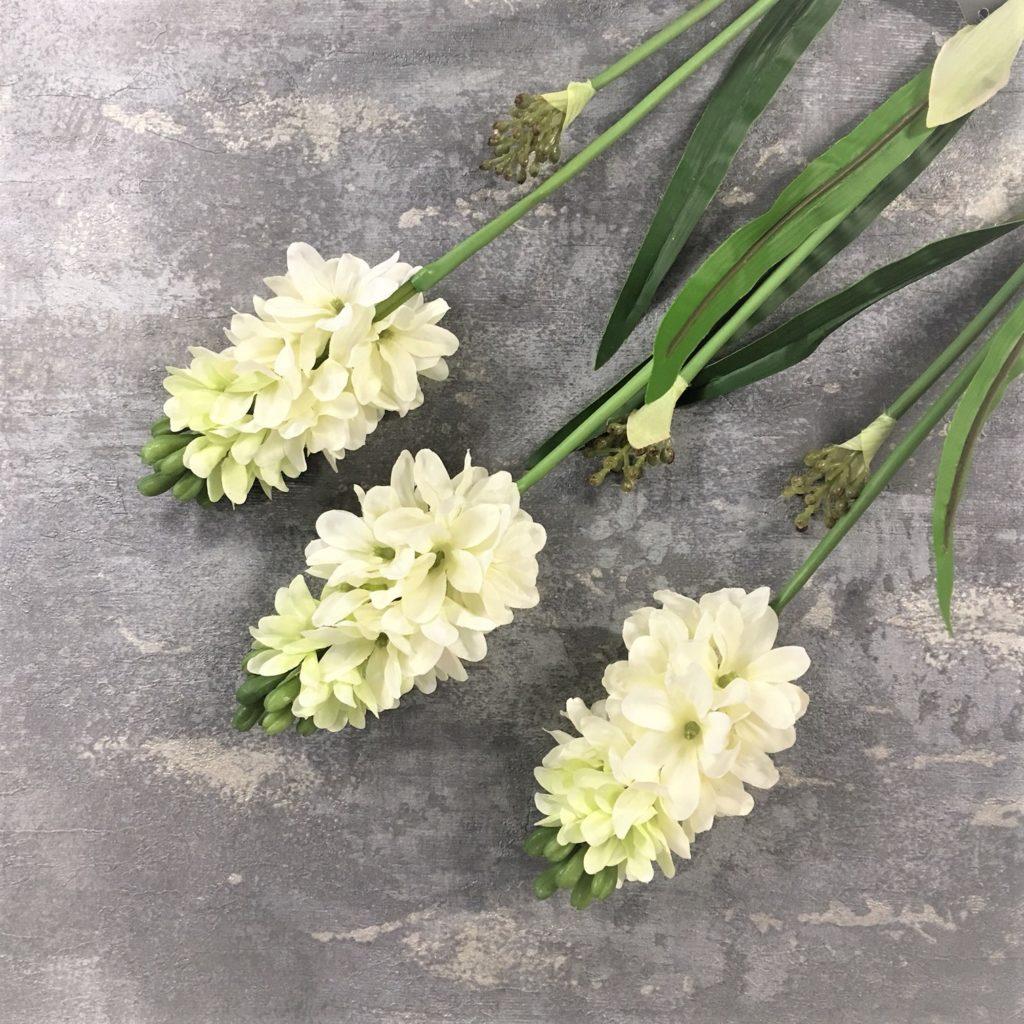 white-hyacinth-stems