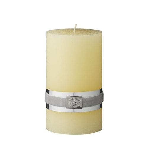yellow-rustic-candle-12.5cm