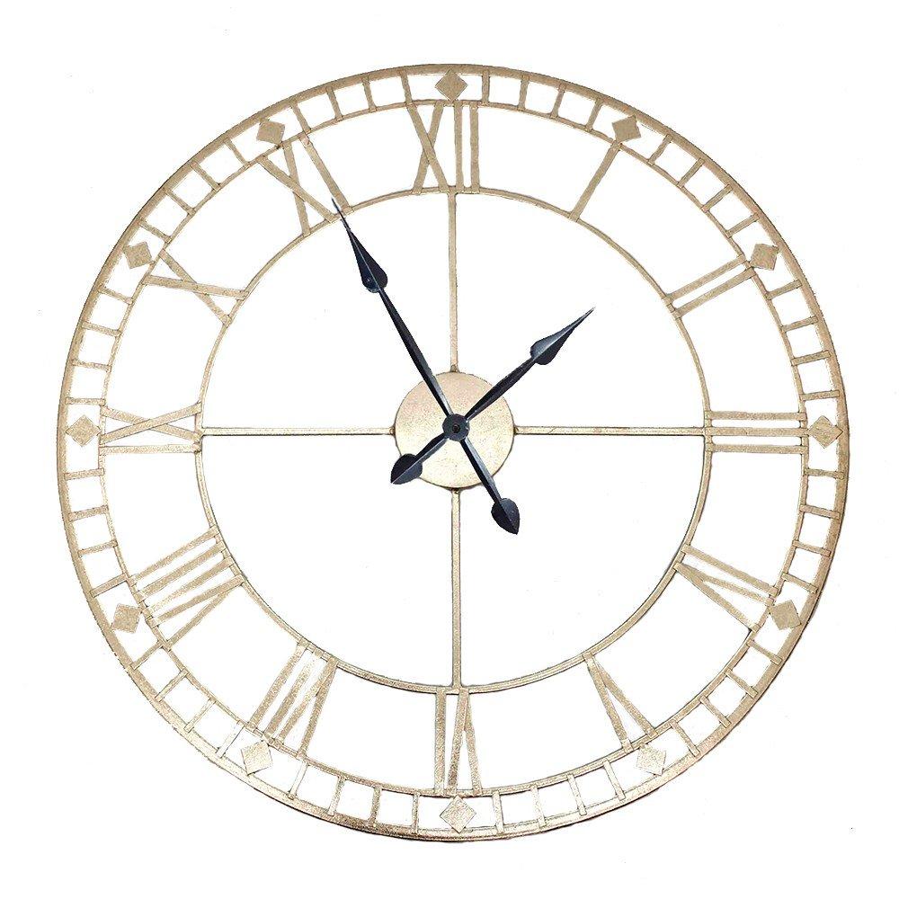 75-166-large-antique-gold-industrial-clock
