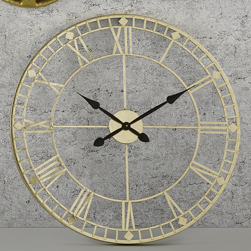 75-166-large-gold-industrial-clock