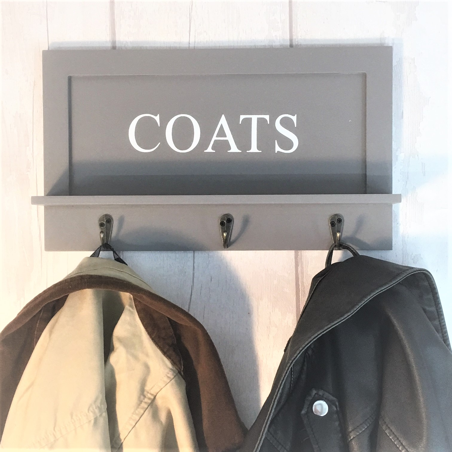 Coats Wall Shelf Hooks