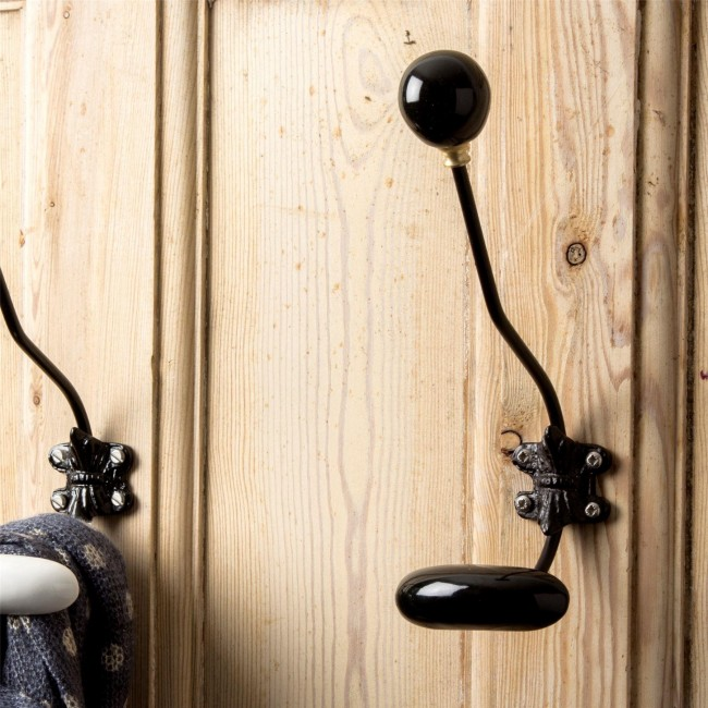 black-ceramic-coat-hook