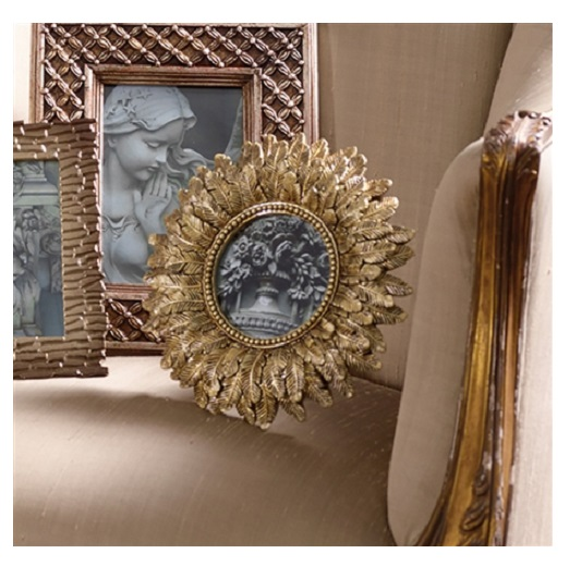 gold-feather-photo-frame