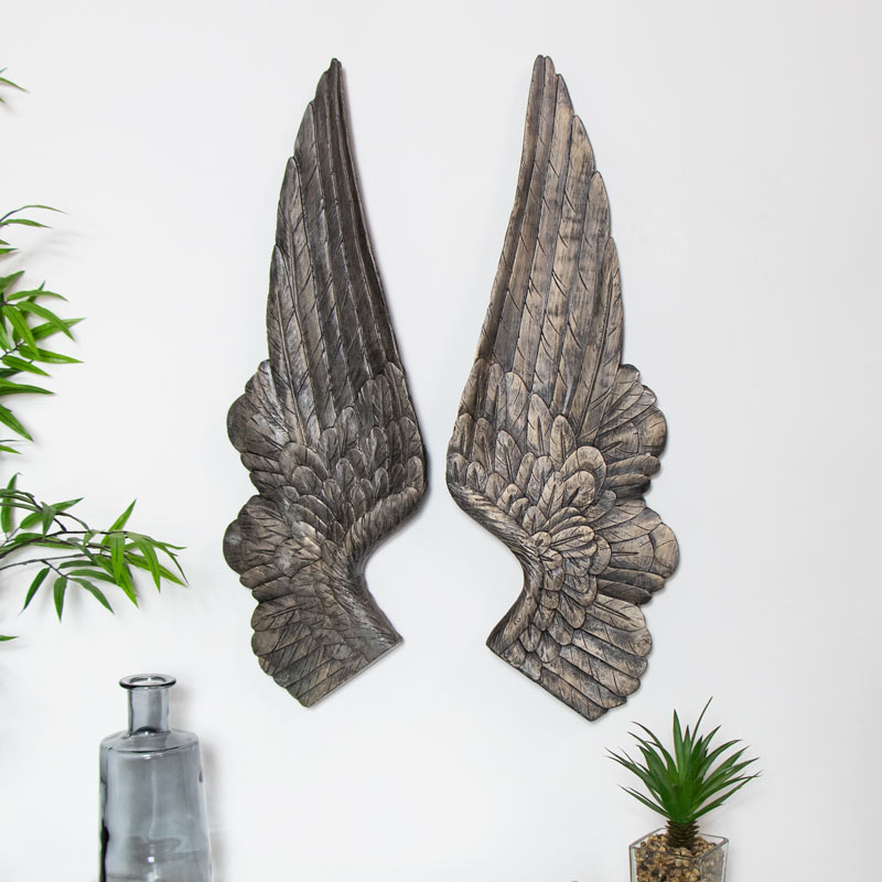 large-antique-gold-angel-wings-wall-decoration