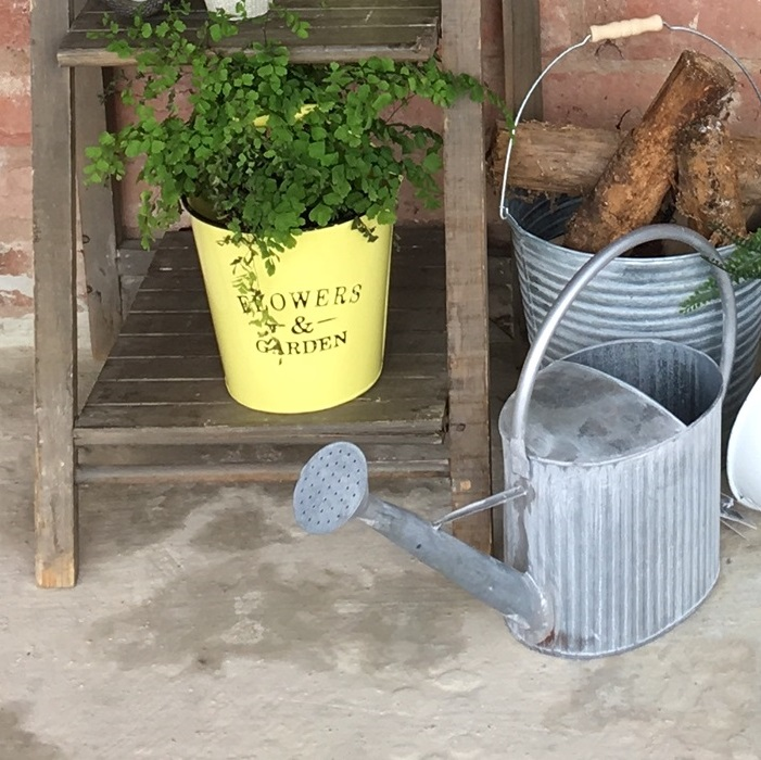 yellow-bucket-planter-tin-bucket-1