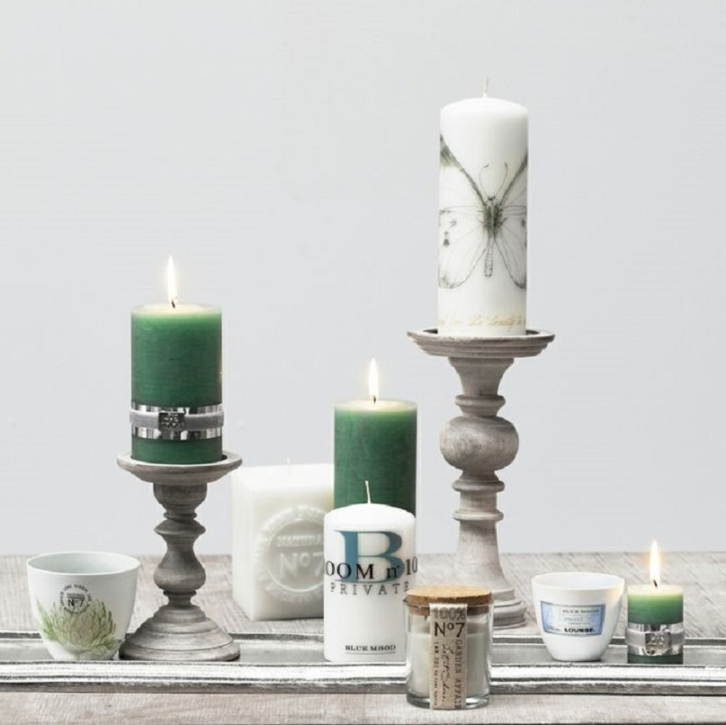 green – affair-collection-candles