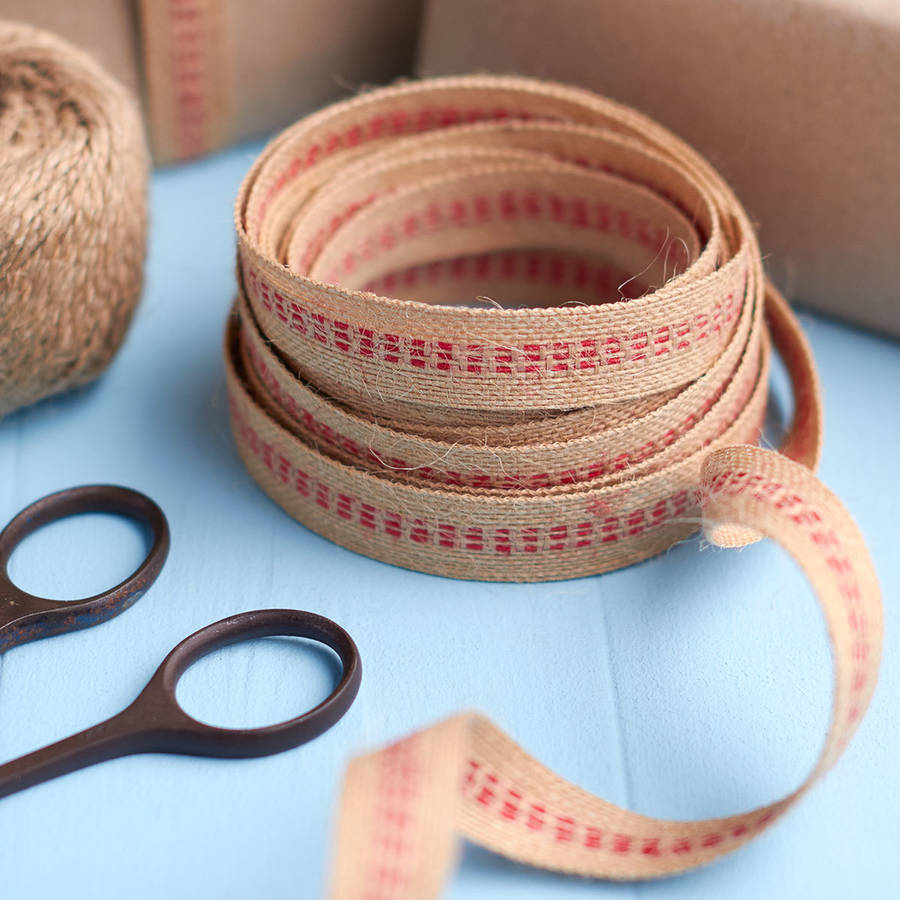 hessian-and-red-stripe-ribbon