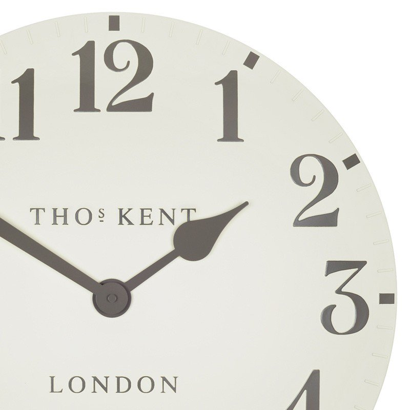 Thomas Kent Double Cream Arabic Wall Clock Tutti Decor Limited