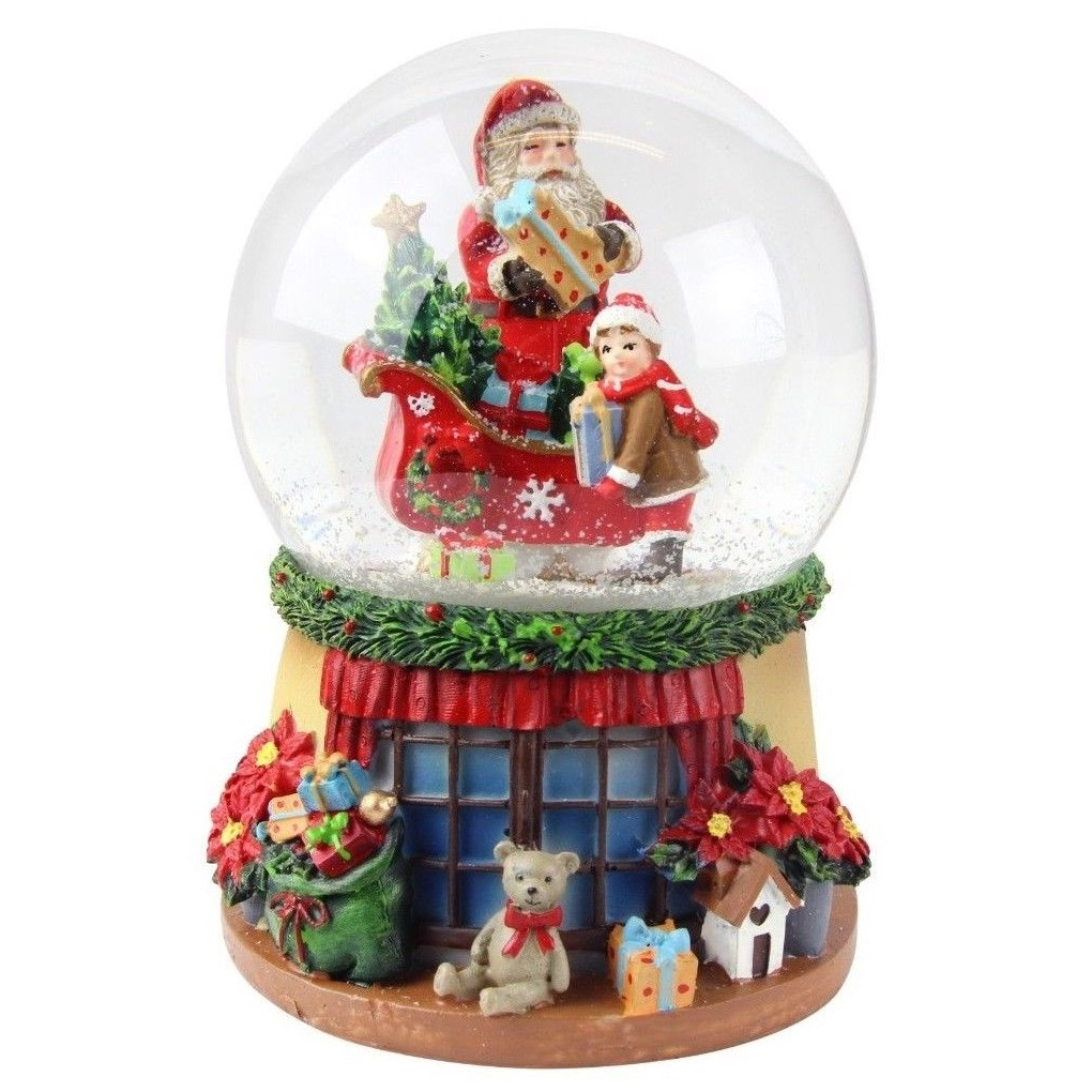 32733-snow-globe-santa-with-sleigh-w