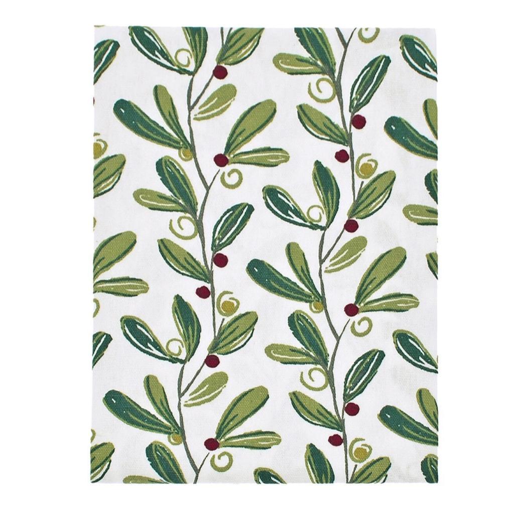 Mistletoe – tea-towel
