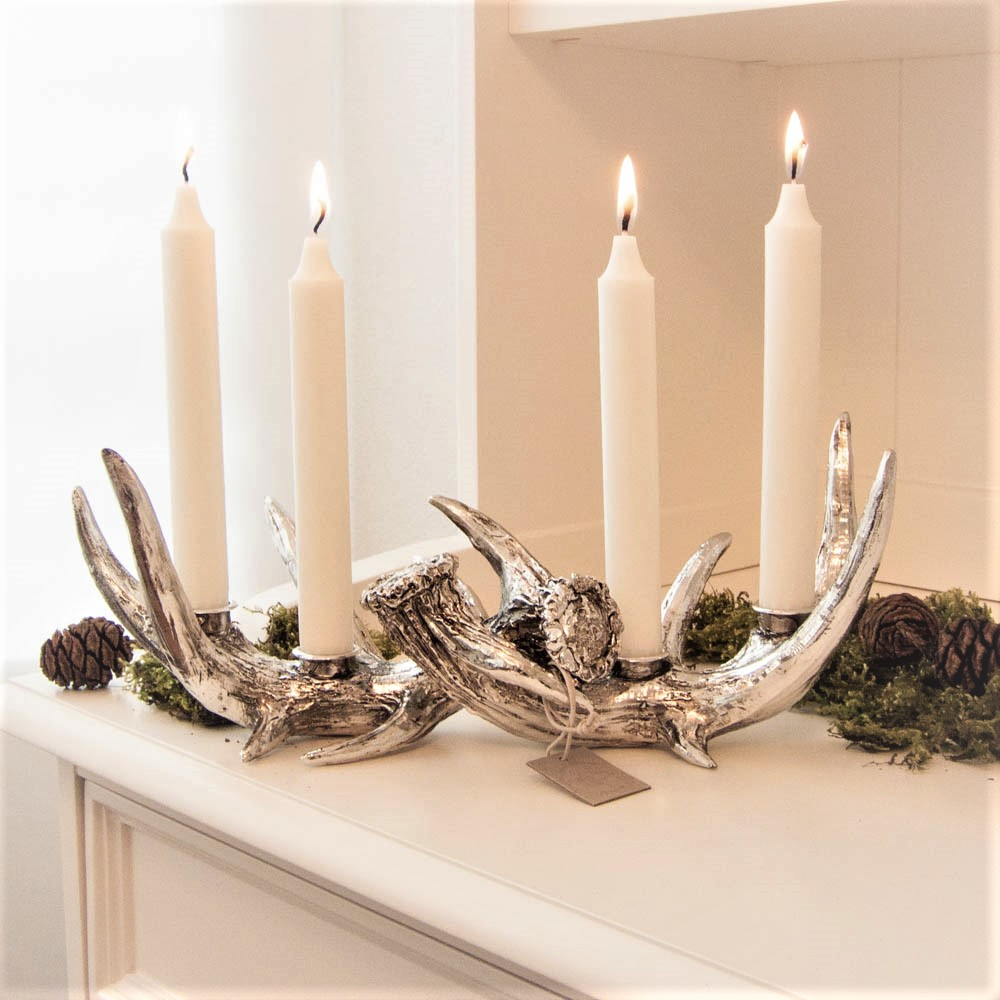 lene-bjerre-double-silver-candle-holder-serafina-collection
