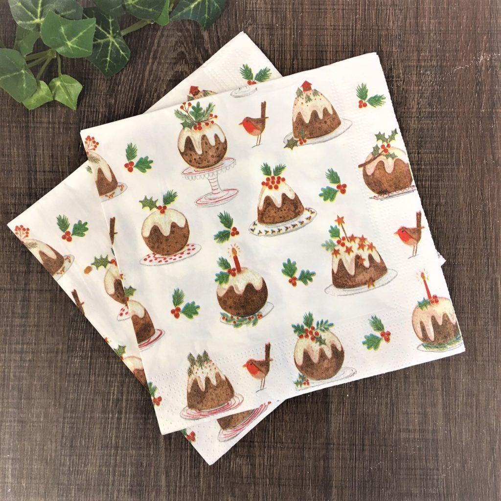 plum-pudding-napkins