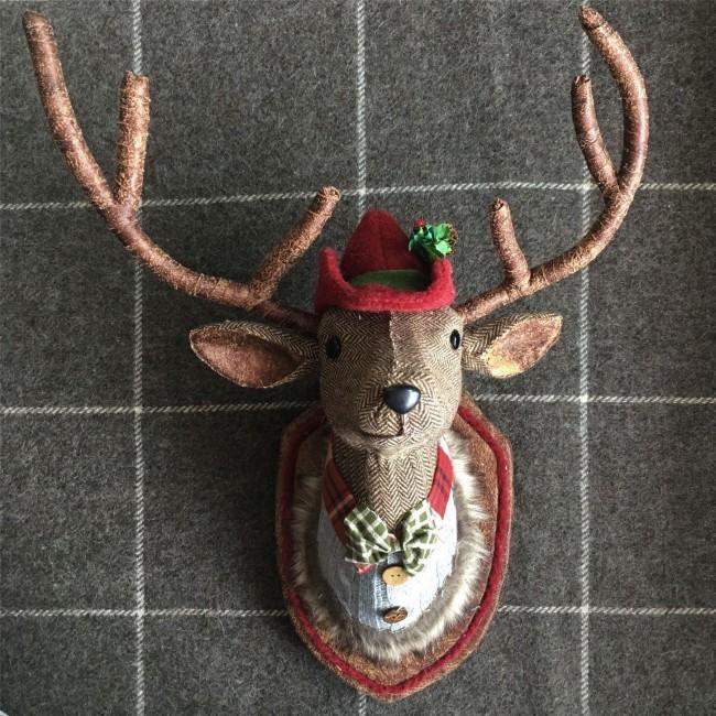 tartan-stag-head-wall-plaque-mood