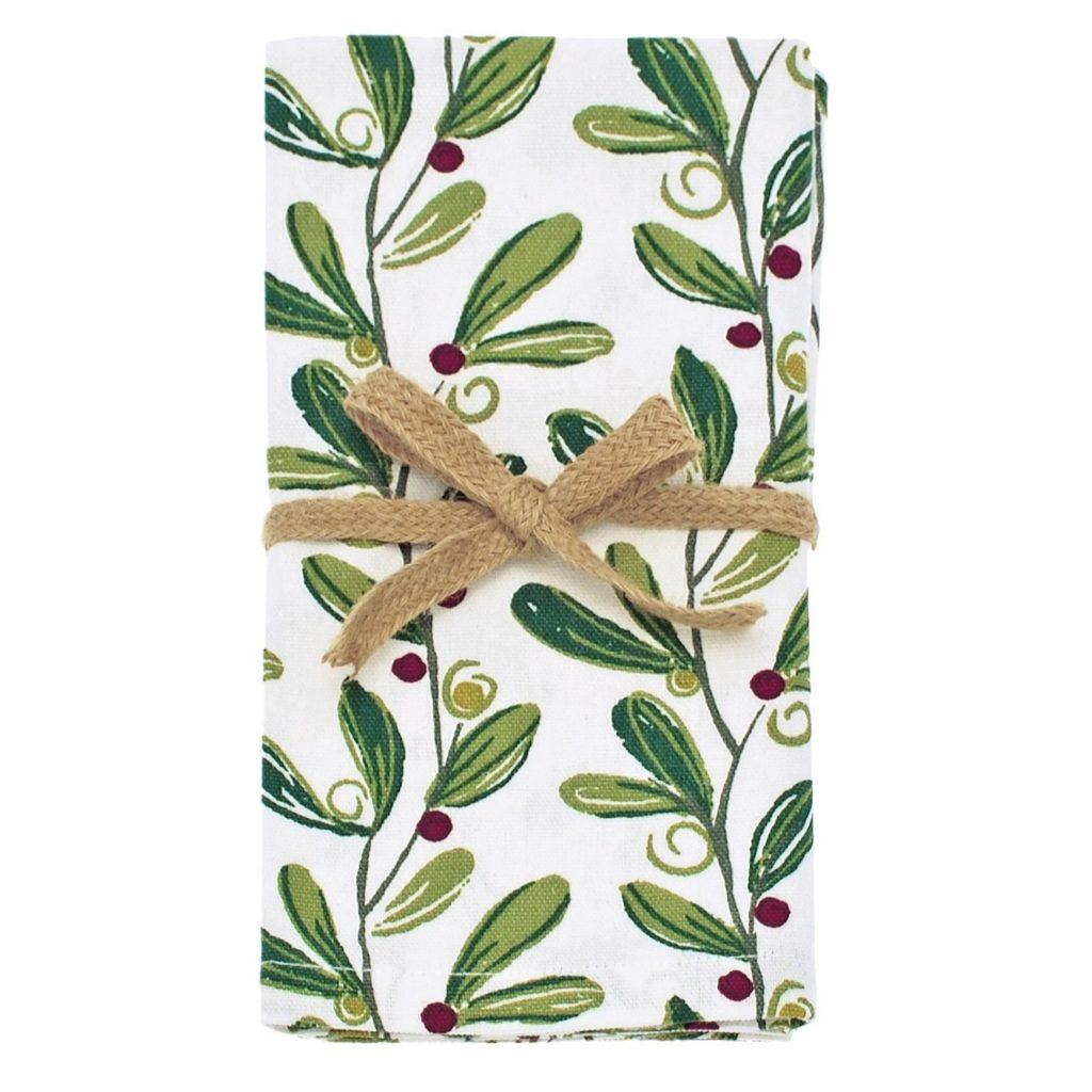 MS16 -mistletoe-napkin-set