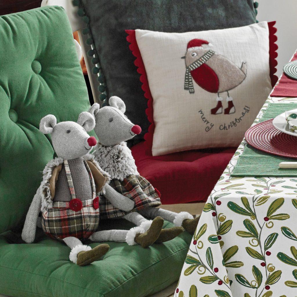 Mistletoe Print- Mr and Mrs Mouse