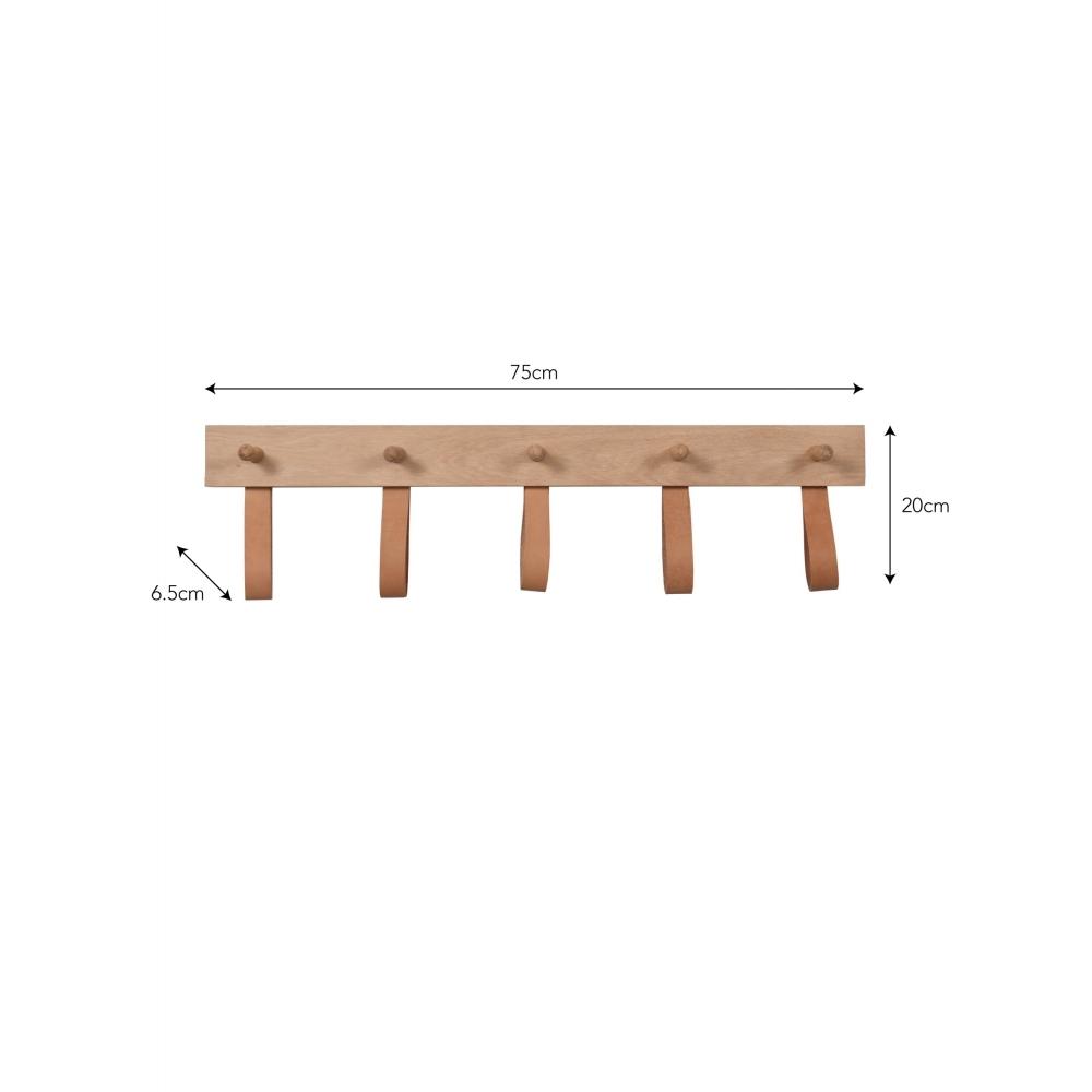 Kelston Peg Rail – 5 peg-sizes
