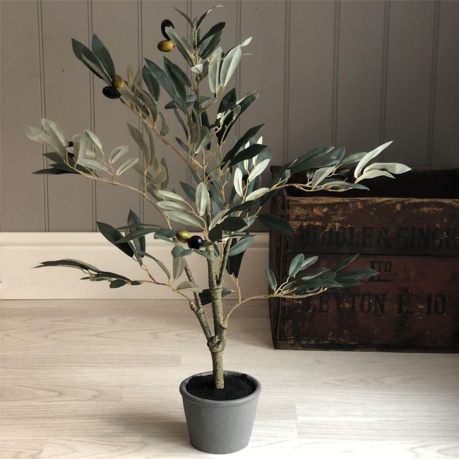 artificial-potted-olive-tree