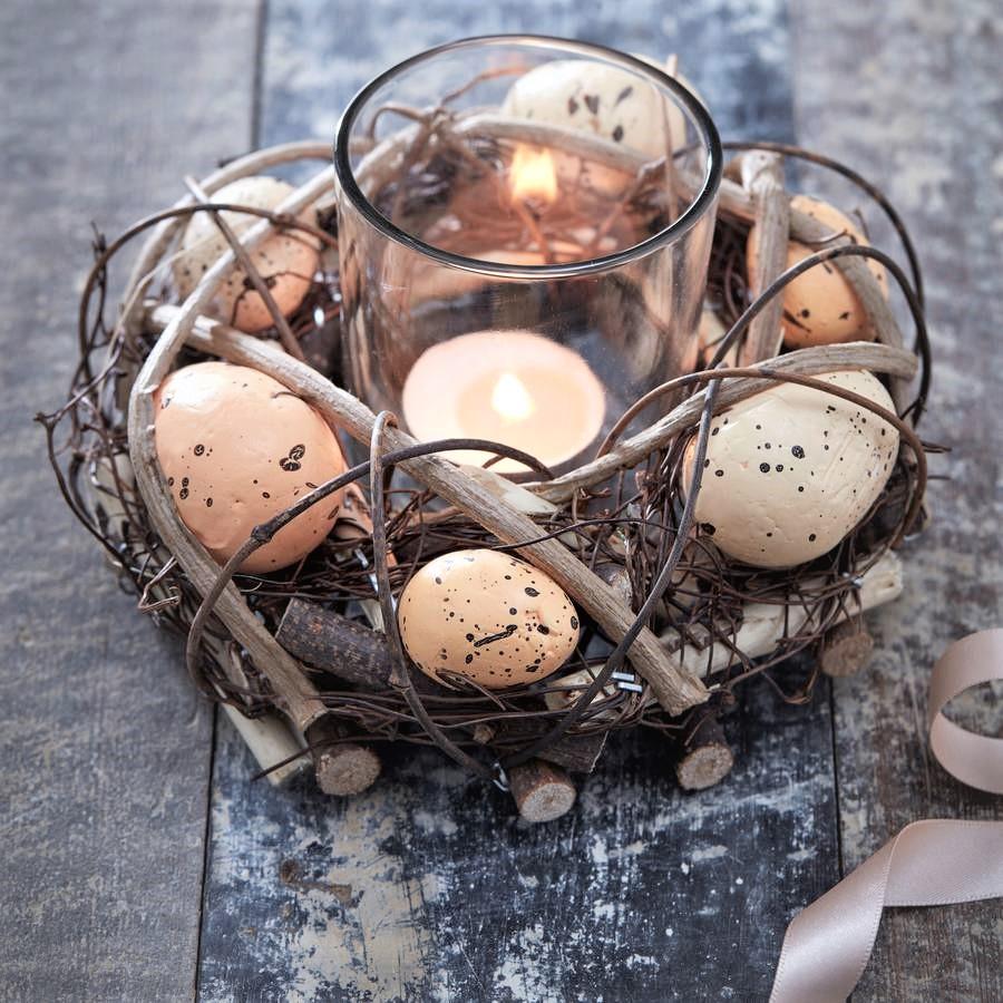 easter-nest-single-tea-light-holder