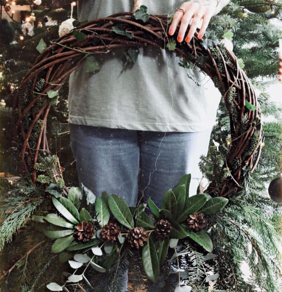large wreath willow wicker