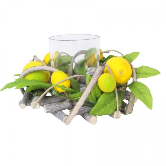 lemon-tea-light-holder