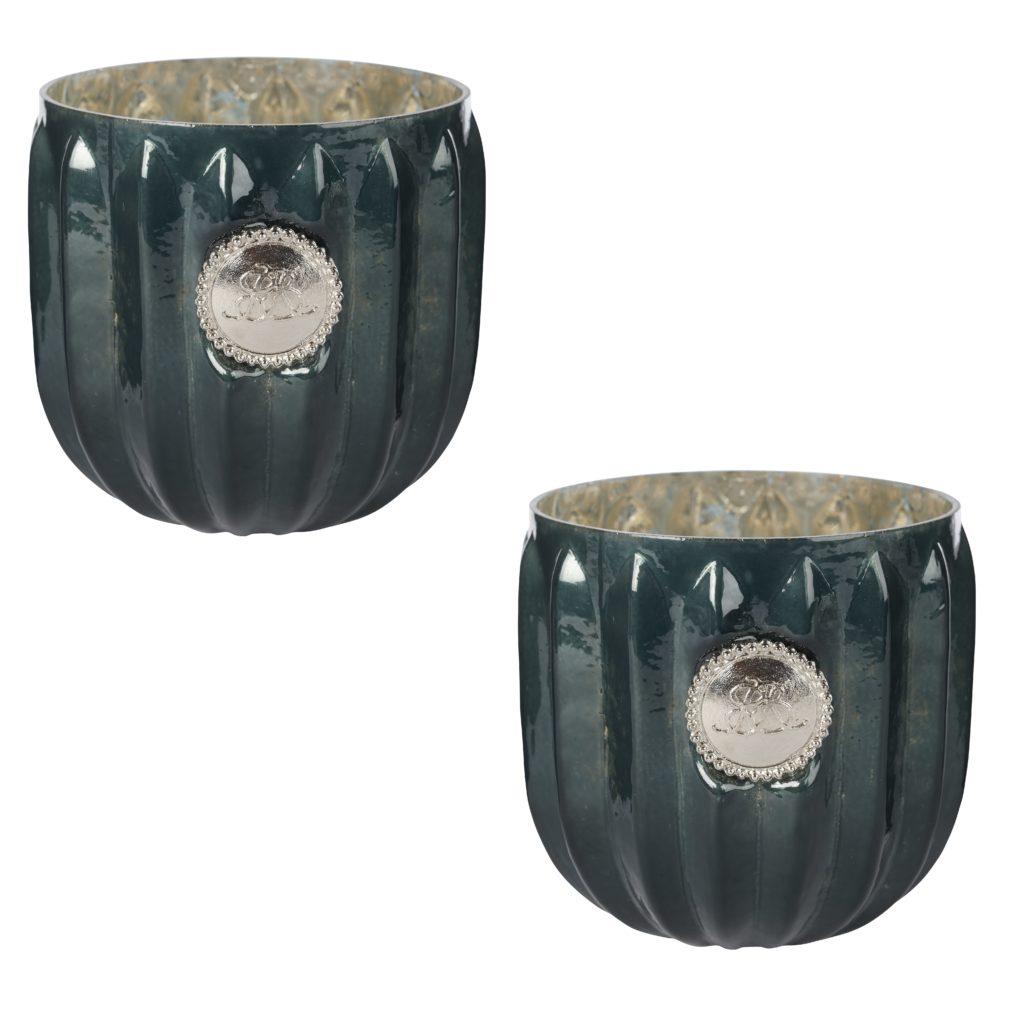green dante votive lene bjerre set of 2