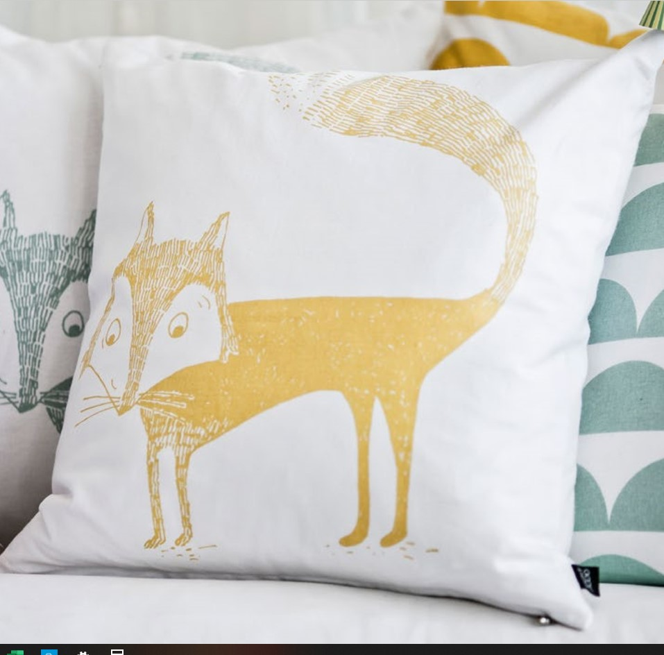 fox-cushion