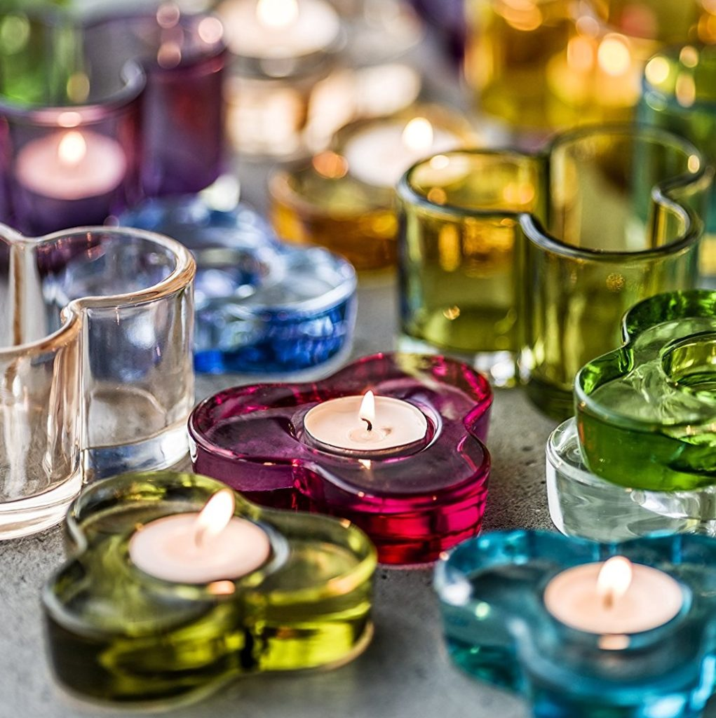 glass tealight holders mood