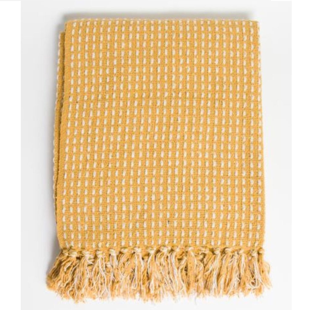 stab-stitch-cotton-throw-mustard-1