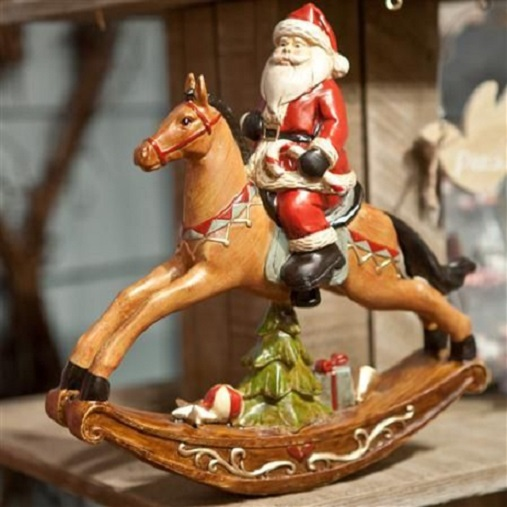 30087-RESIN-SANTA-ON-ROCKING-HORSE-MOOD