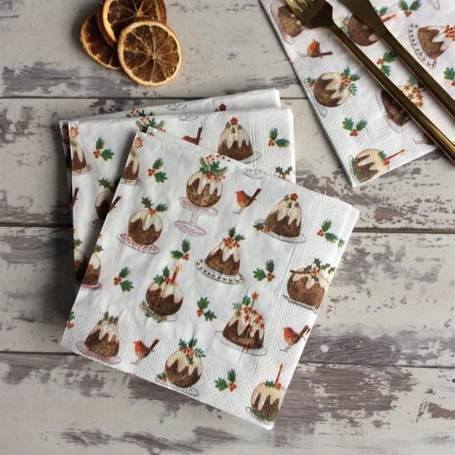 christmas-pudding-napkins
